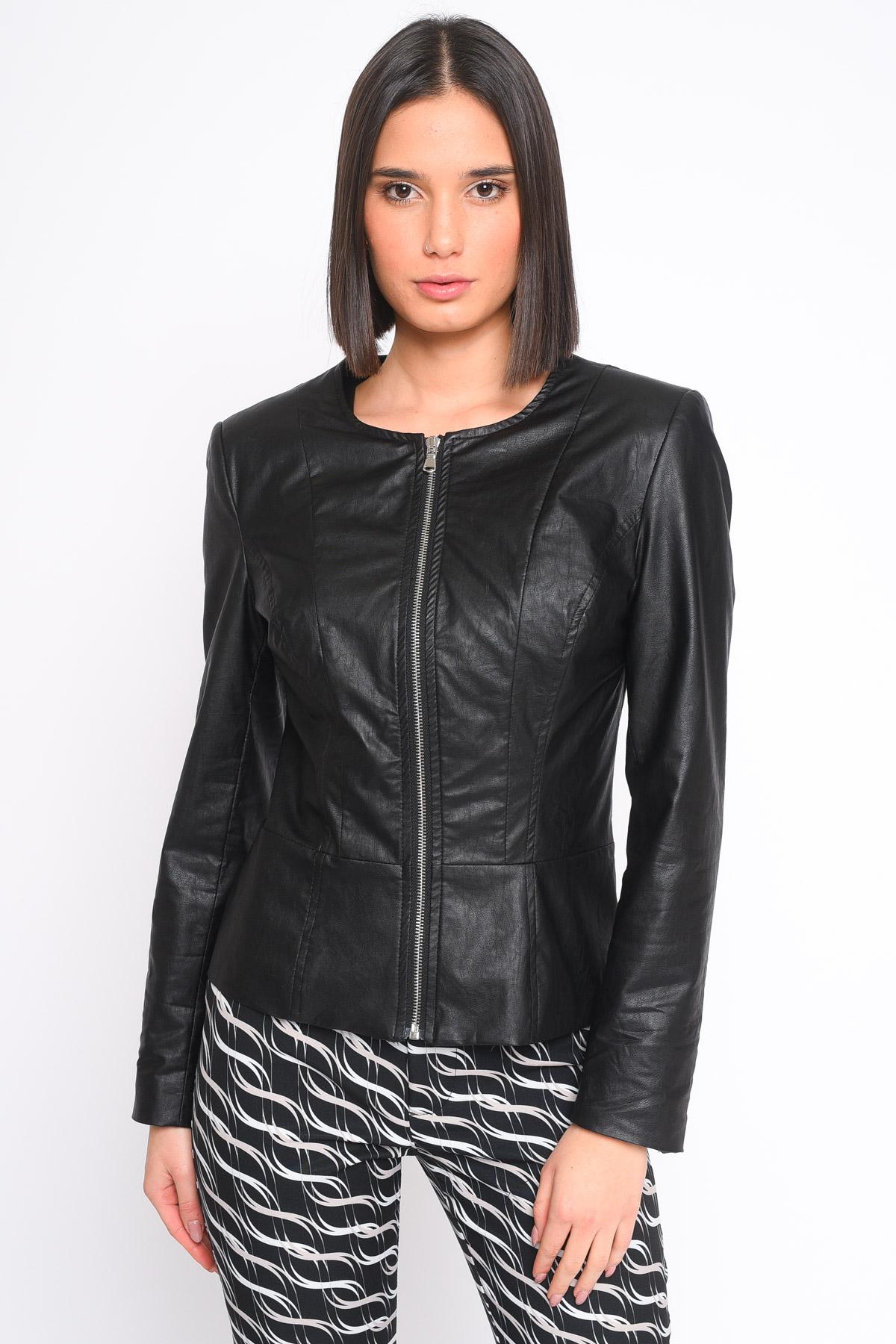 GIACCA IN ECOPELLE A COREANA for women -  - Paquito Pronto Moda Shop Online