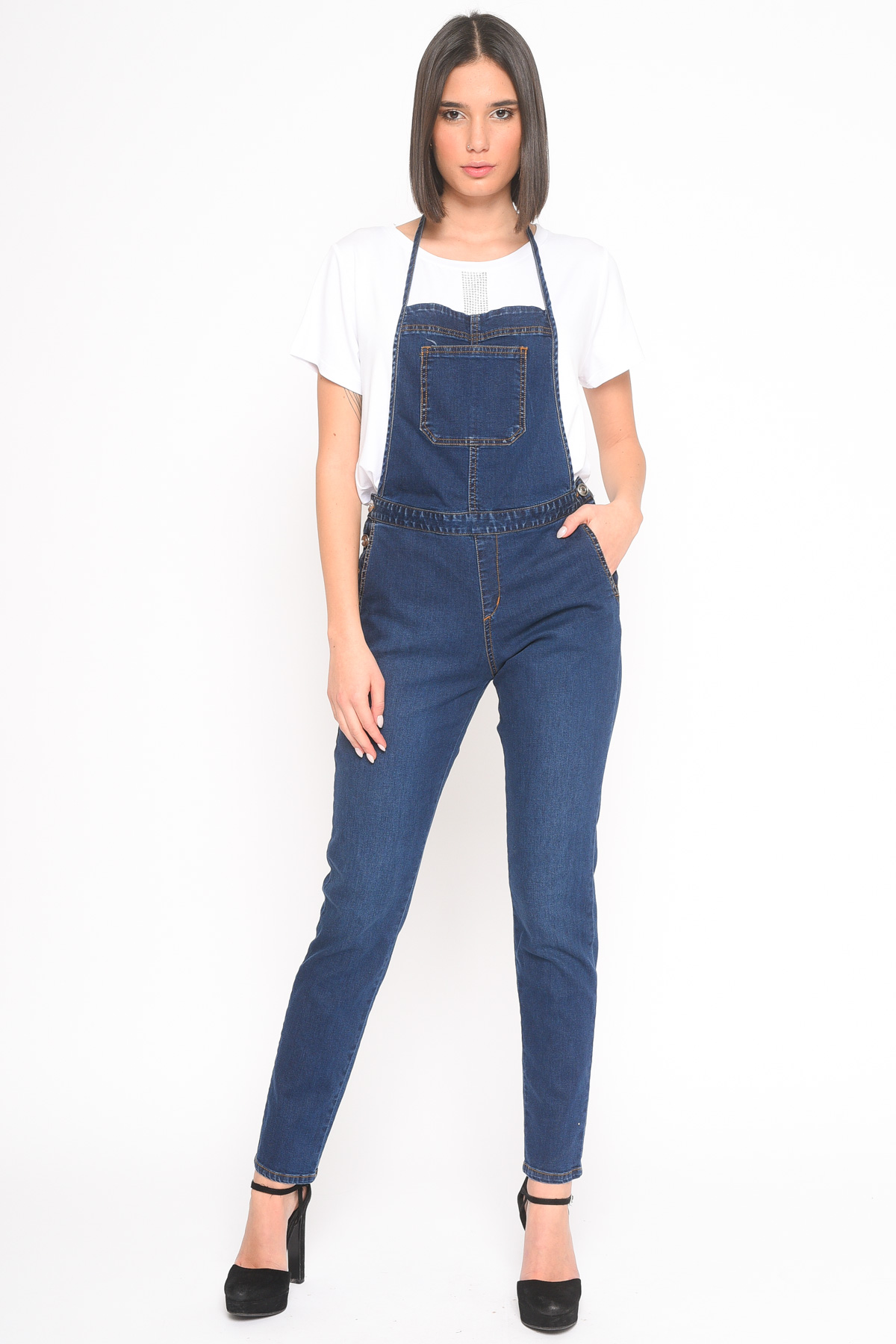 SALOPETTE  DI JEANS for women - ONLY - Paquito Pronto Moda Shop Online